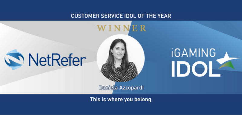NetRefer's Daniela Azzopardi Wins Customer Service Idol of the Year At IGaming Idol 2018